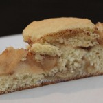 Apple kuchen (German cake)