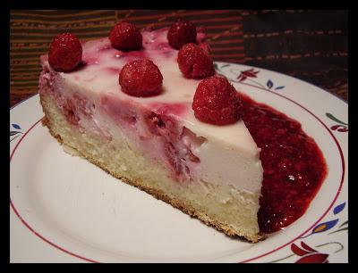 Kuchen de frambuesas