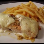 Salmón al queso