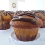 Cupcakes de vainilla y chocolate