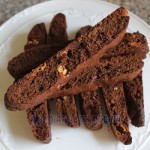 Biscotti de triple chocolate