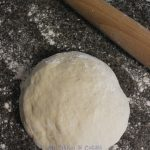 Base dough for pizza