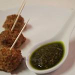 Bolitas de carne con quinoa