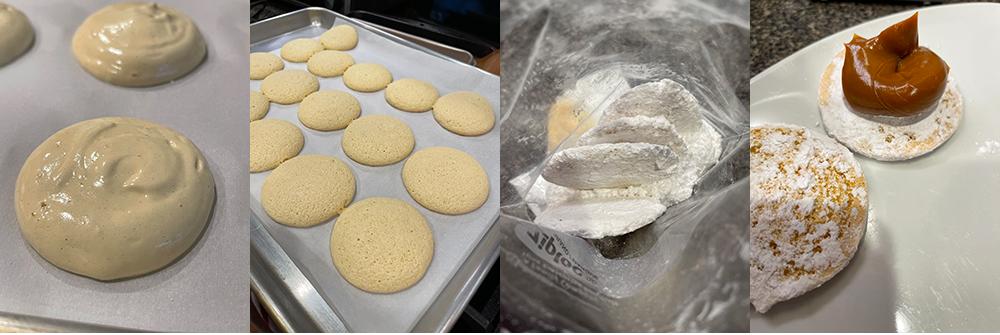 Chilean Powdered Pastries - Preparation