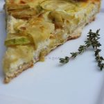 Tarta de zapallo italiano y ricotta