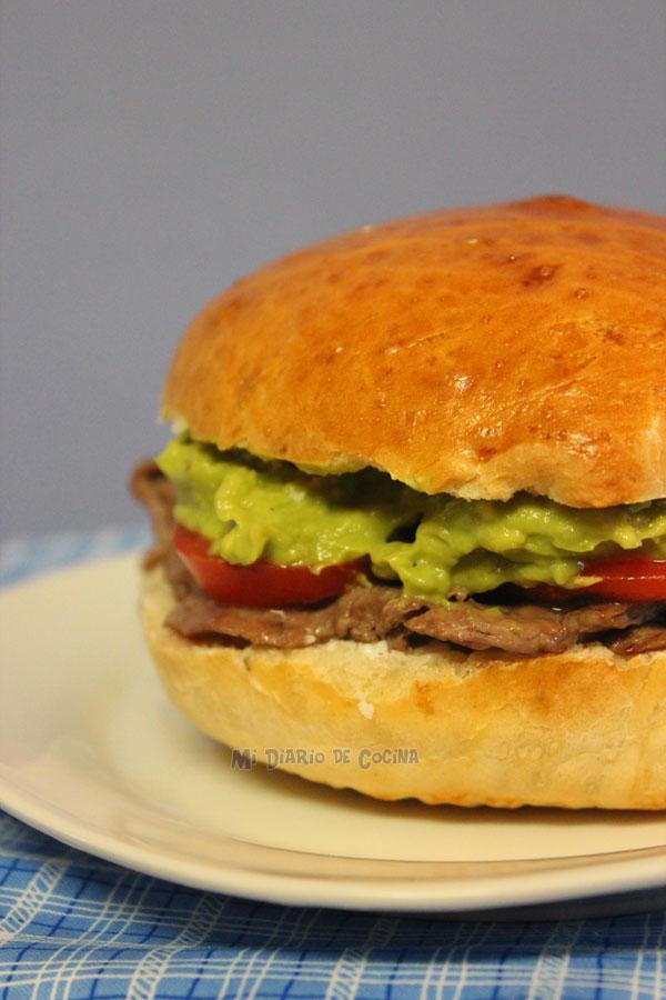 Sandwich bread - Churrasco-steak sandwich