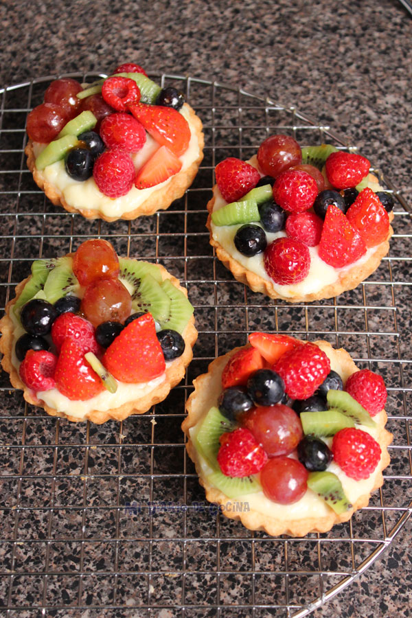 Tartaletas de frutas