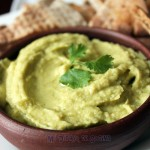 Hummus with avocado