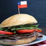 Chacarero,  sandwich chileno