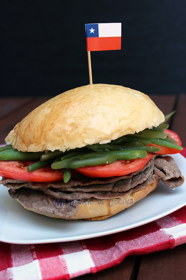 Chacarero, Chilean sandwich