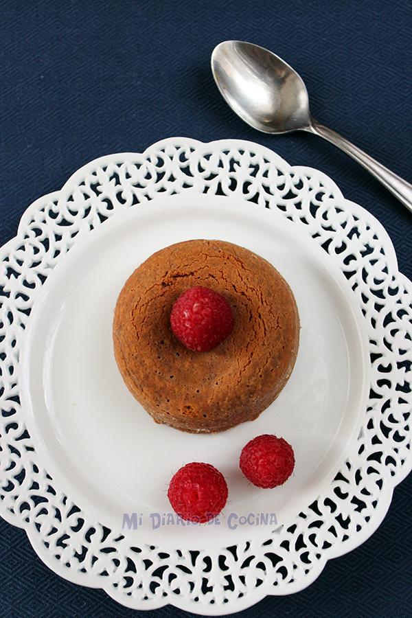 Dulce de leche molten cake – Mi Diario de Cocina