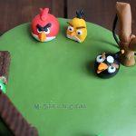 Torta de Angry Birds