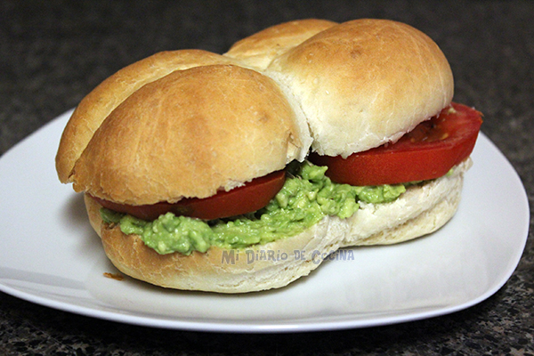 Marraqueta or whipped bread - Sandwich