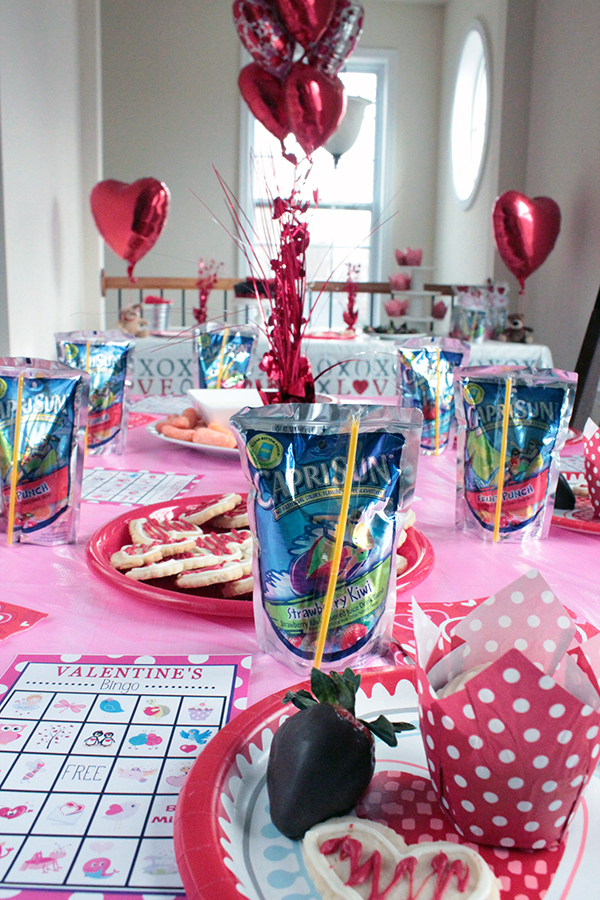 Valentine's celebration with Capri Sun