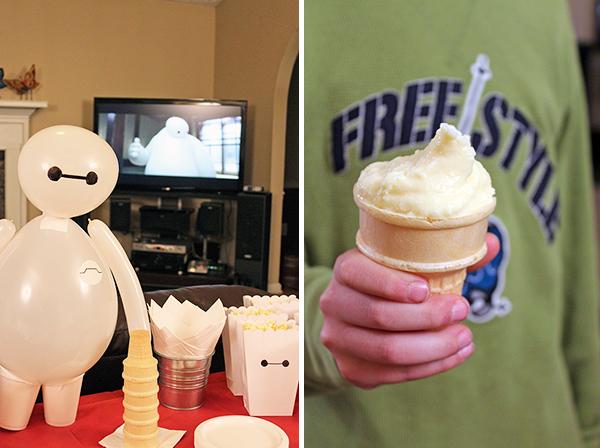 Big Hero 6 Honey Lemon ice cream