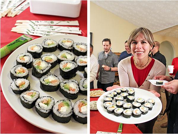 Big Hero 6 sushi & wasabi