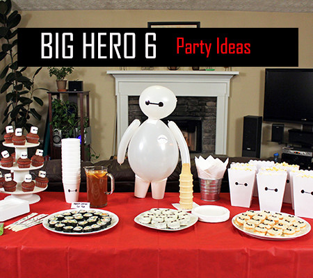 Big Hero 6 and party with friends