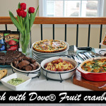 Brunch with DOVE® Fruit Cranberries