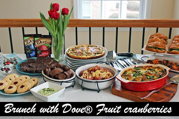 Brunch con DOVE® Fruit Cranberries