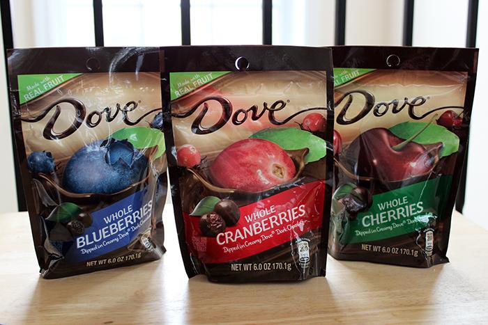 Brunch with DOVE® Fruit cranberries