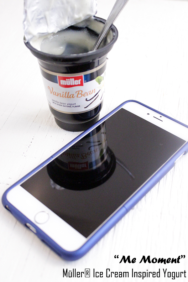 """Me Moment"" Müller® Ice Cream Inspired Yogurt recipe"