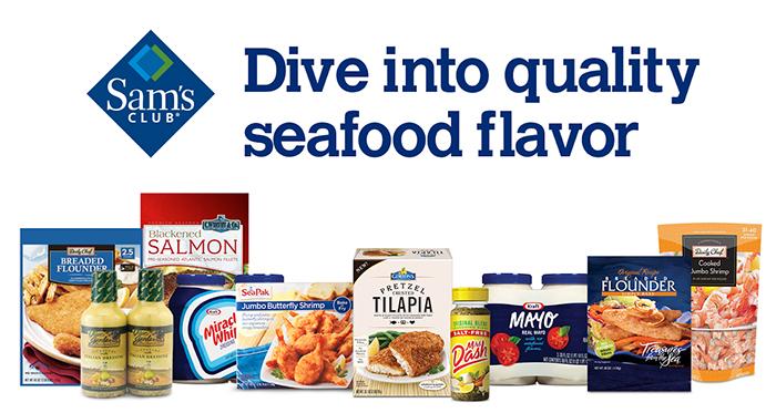 Sam's Club seafood