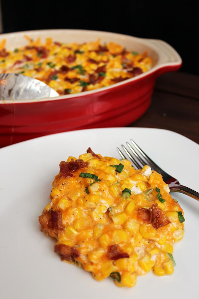 Cheddar Corn Casserole with Del Monte®
