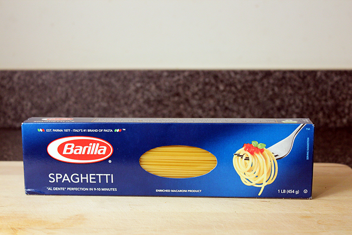 Barilla® Spaghetti with Chicken and Spicy Tomato Sauce