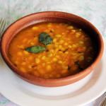 Porotos Granados (cranberry beans stew – Chilean recipe)