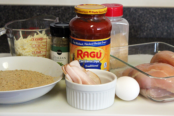 Pollo al horno a la parmesana