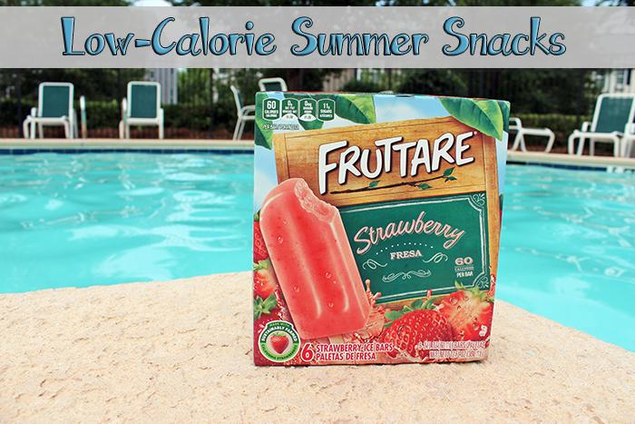 Low-calorie summer snacks - Fruttare