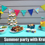 Summer party with Kraft Dips