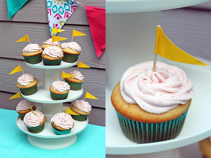 Brochetas de carne y vegetales con dips Kraft - Cupcakes