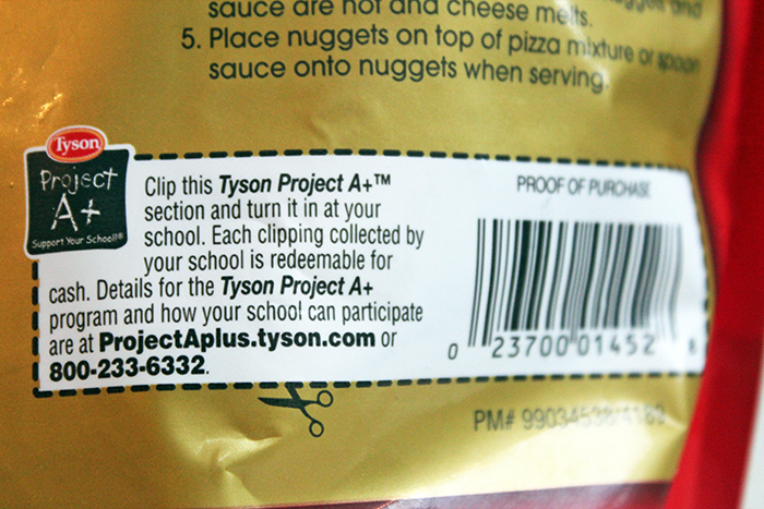 About The Tyson Project A+™ program - Label