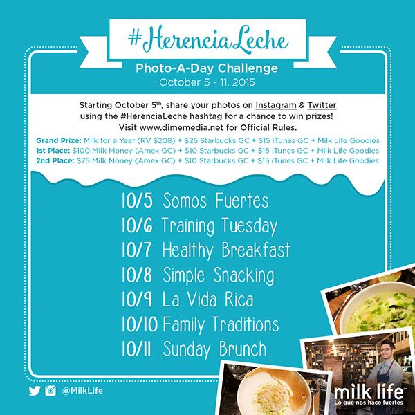 #HerenciaLeche challenge