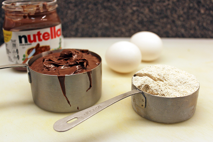Nutella brownie - Ingredients