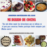Concurso Aniversario de Mi Diario de Cocina