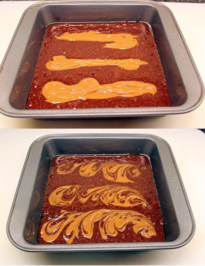 Nutella brownie - Preparation