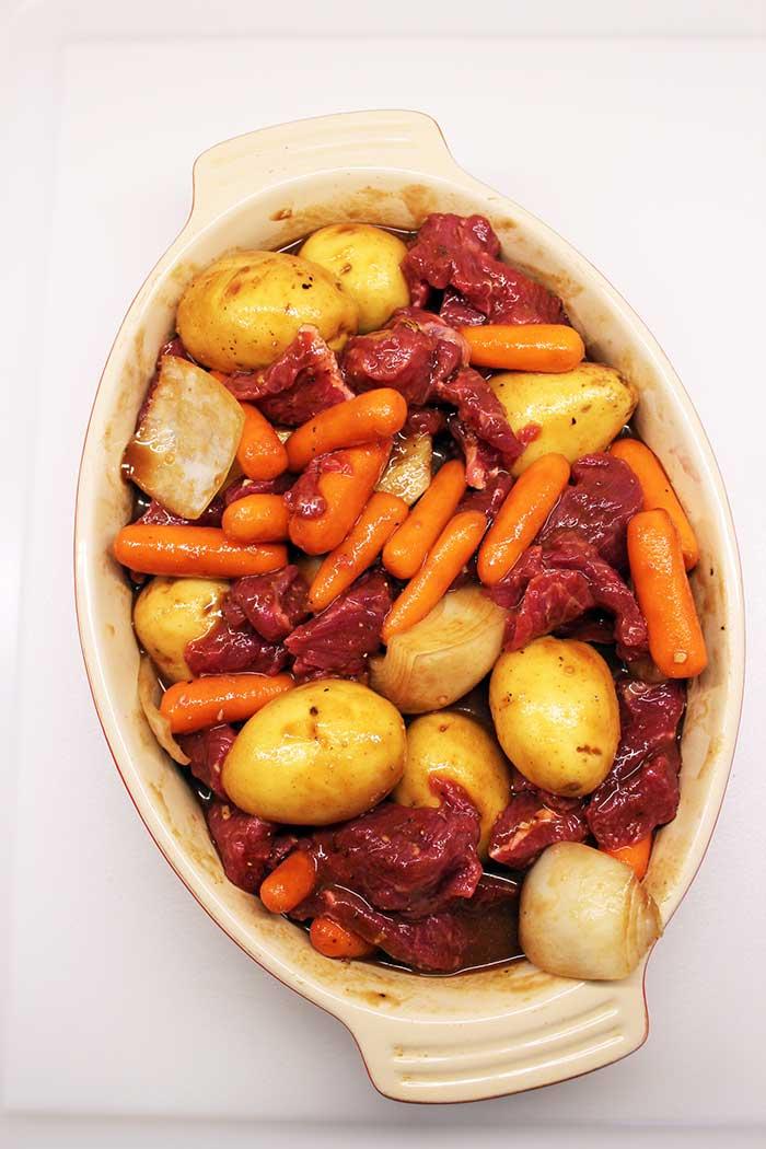 Tyson® beef stew