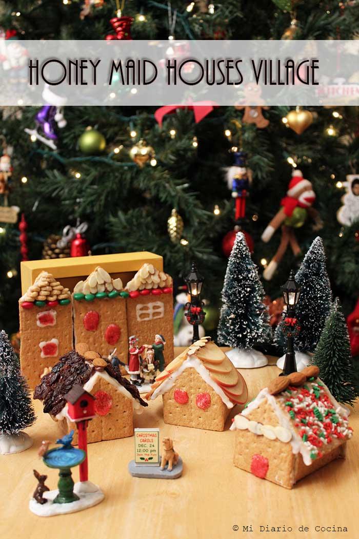 Casas navideñas con Honey Maid