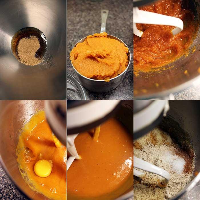 Paleo pumpkin cake - Preparation