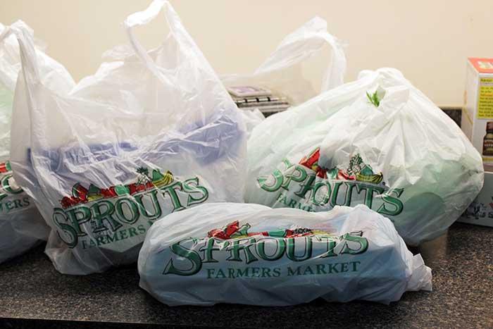 Mercadería del supermercado Sprouts