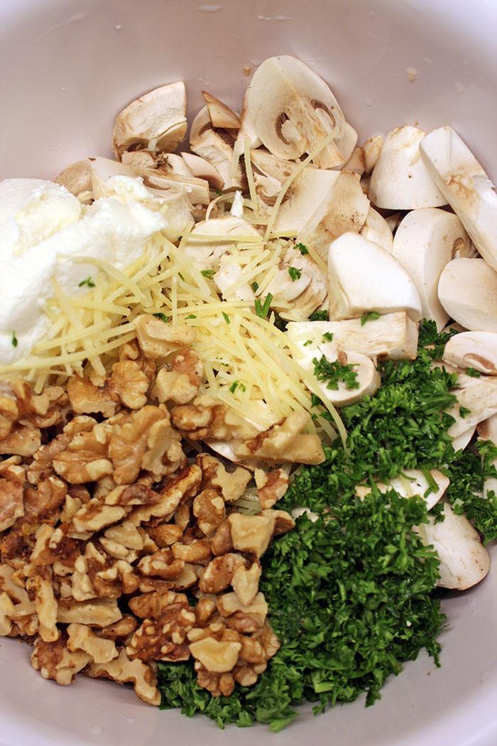 Mushroom pate - Ingredients