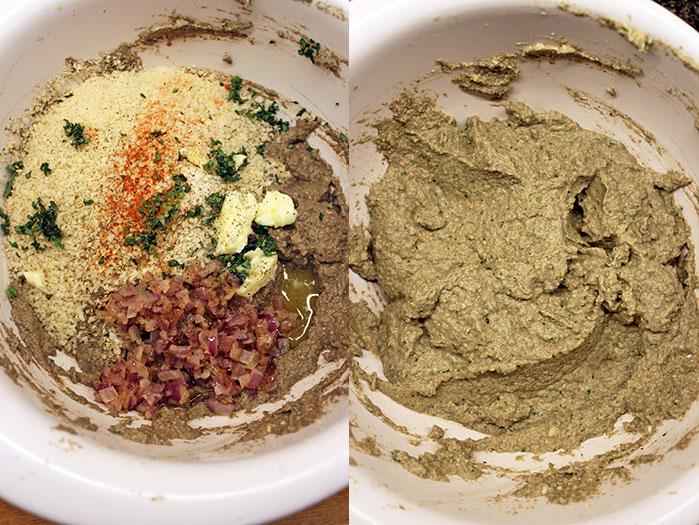 Mushroom pate - Preparation