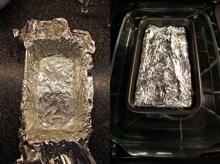 Mushroom pate - Oven tray