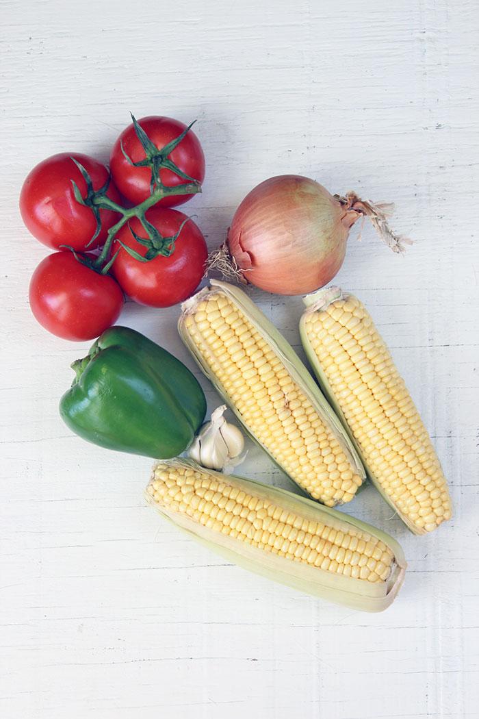 Verduras para preparar Tomaticán