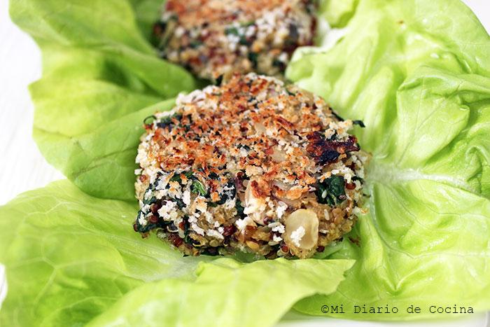 Croquetas de quinoa