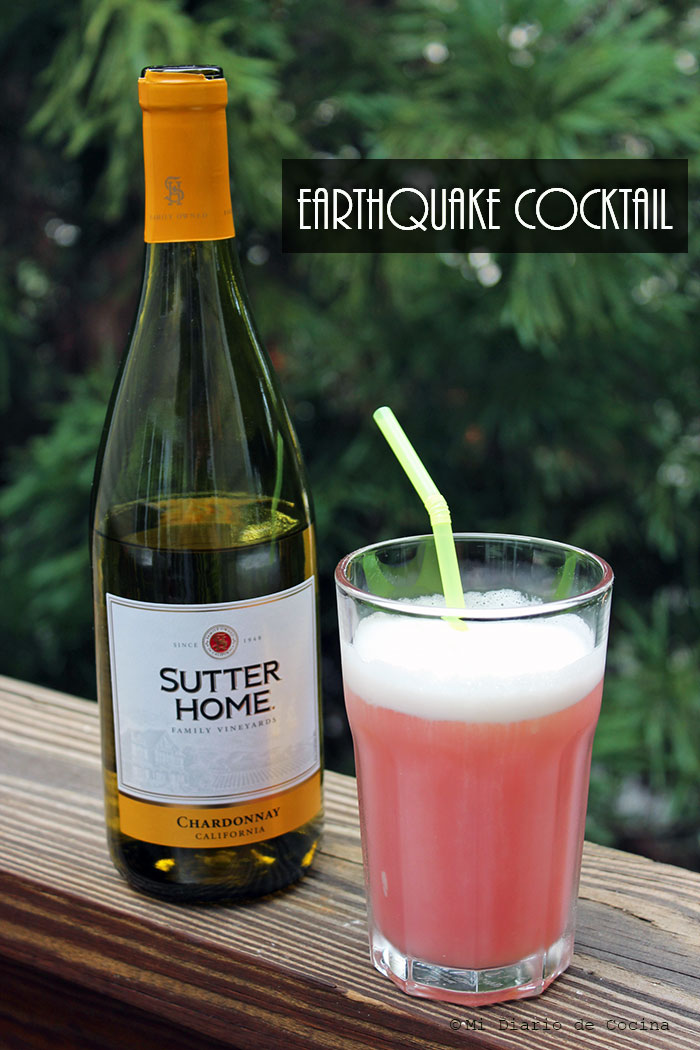 Earthquake cocktail