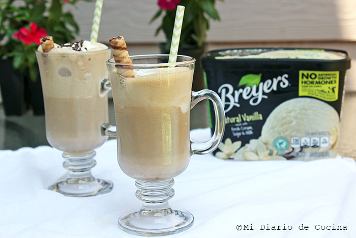 Vanilla Ice Cream Coffee