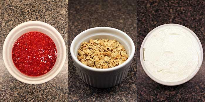 Crème brûlée de yogurt - Ingredientes